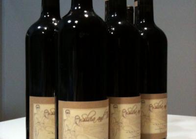Wedding custom wine label